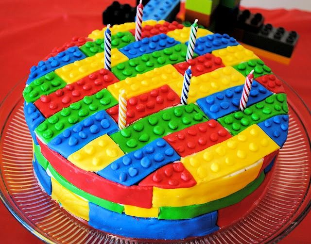 The Coolest Birthday Cakes Ever Lego Design