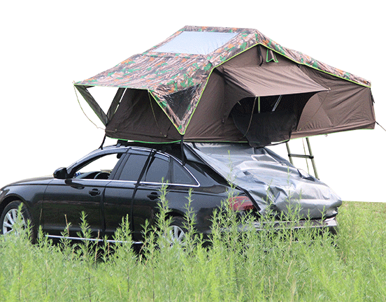 Cartt02 1 1 Roof Top Tent Is One Of The Toughest New Tents With Skylight On The Market People Can See 360 Degree Scenery Roof Top Tent Top Tents Tent
