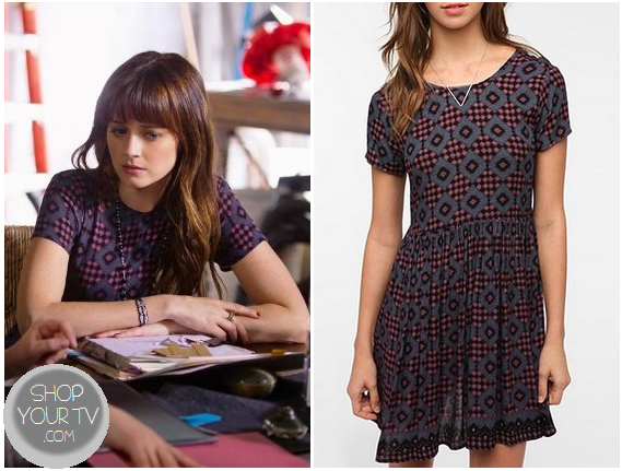 Shop Your Tv: Remember Sunday? Molly's Print Dress