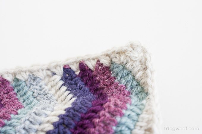 Ripple Chevron Afghan Square | Pinterest