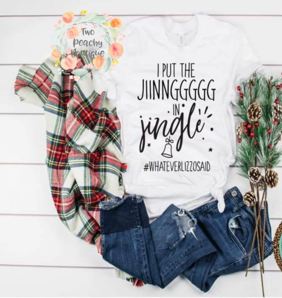 I put the Jiinnggg in Jingle Shirt Colorful shirts