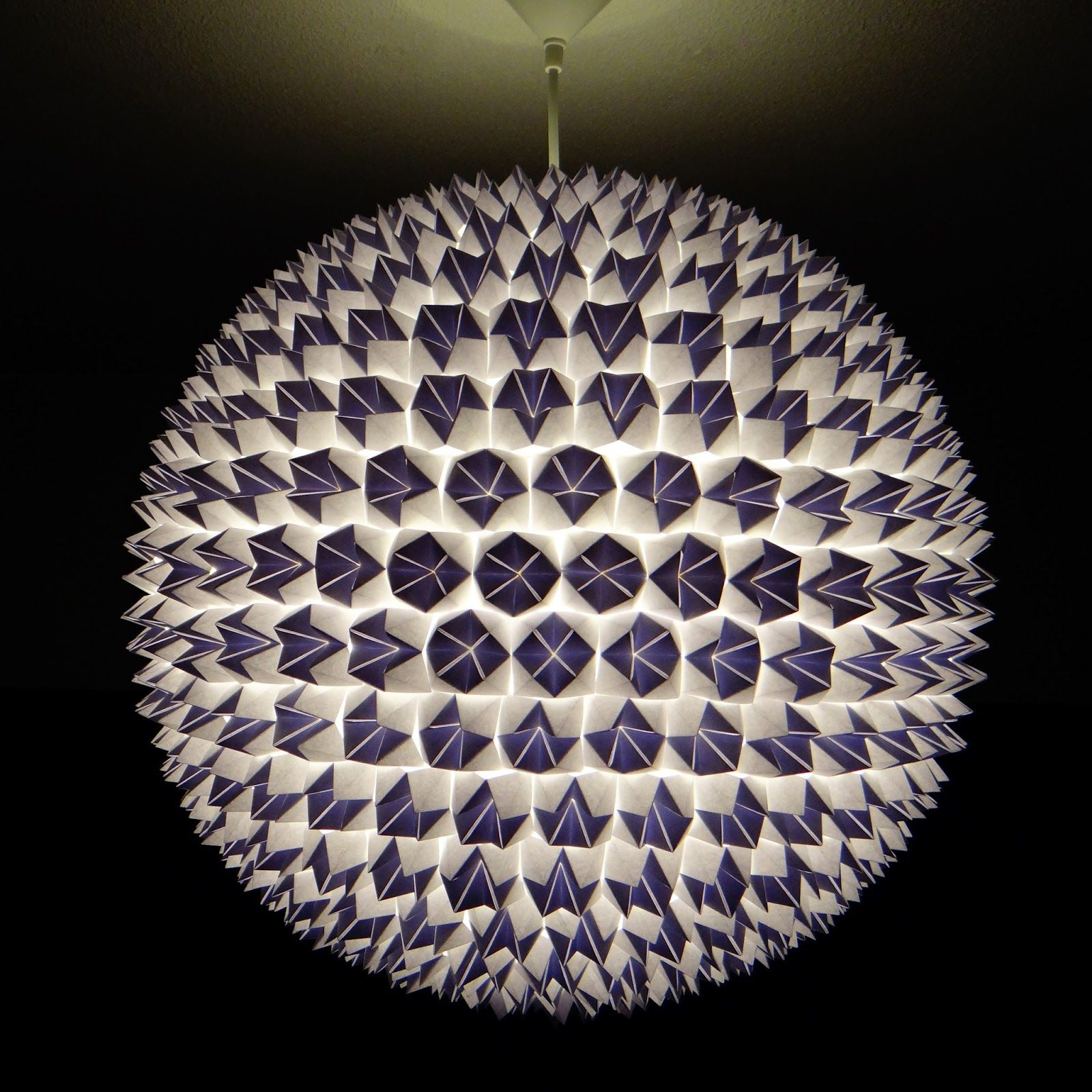 origami lamp - Buscar con Google