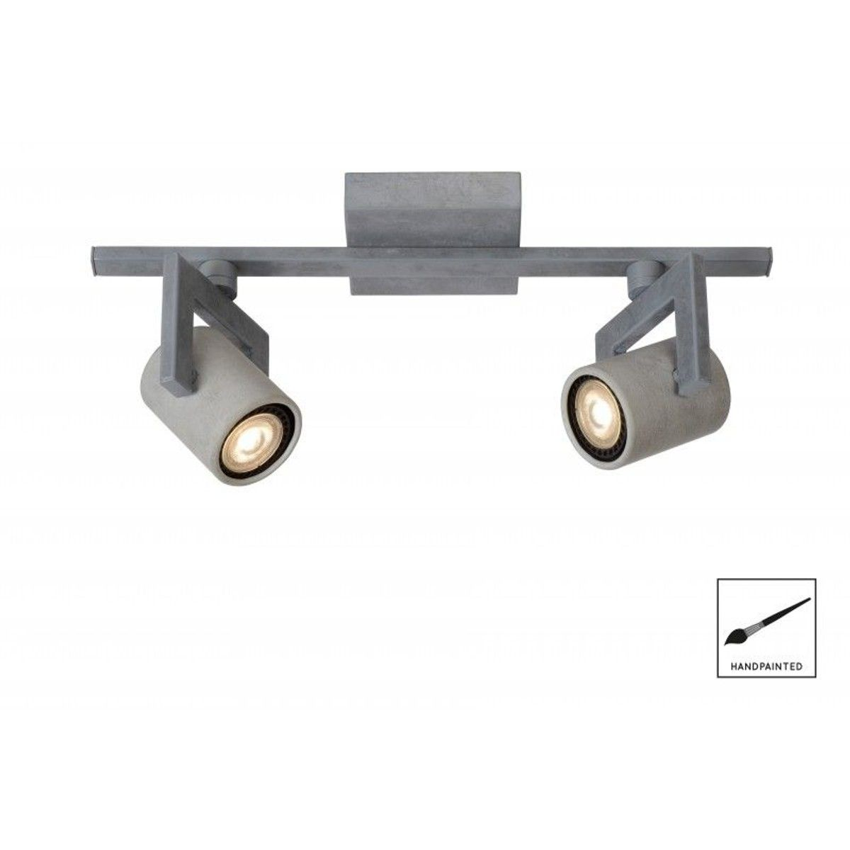 Spot Plafond Conni Led D6 Cm Led Dim Gu10 2x5w 3000k Taille Tu Spot Plafond Led Industriel