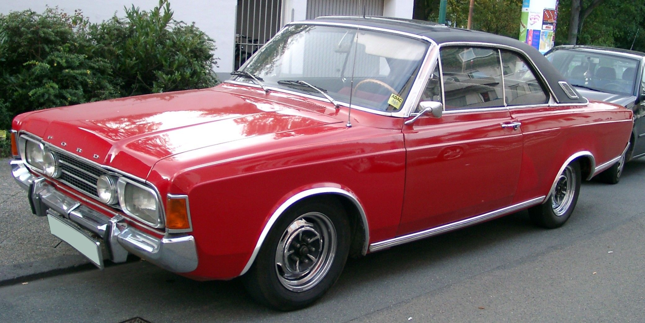 1968 Ford Taunus 20m Rs Coupe Auto Vervoer Oldtimers