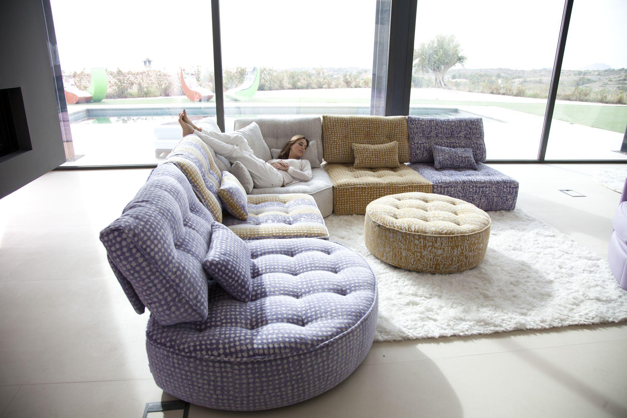 Arianne Modern Sectional Sofa By Fama Sofas Spain Modernes Sofa