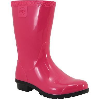 bc7857bcfe6 UGG Raana Rain Boots - Girls Black