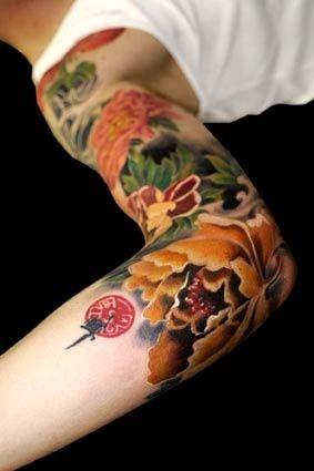 bd172a29e 80 ARTISTIC SLEEVE TATTOO FOR MEN | ideas | Tattoos, Cool tattoos ...
