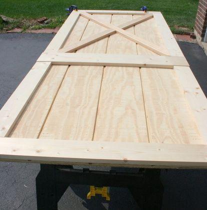 Make a Custom Barn Door for Under $50! images