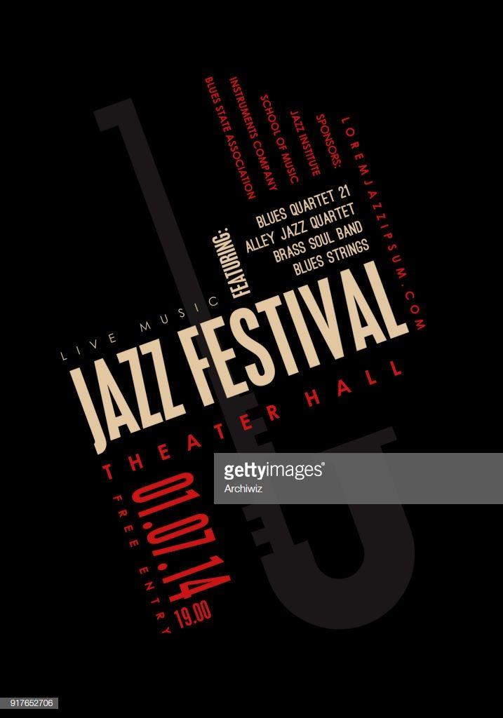 Vector art jazz music poster background template music vector art jazz music poster background template maxwellsz