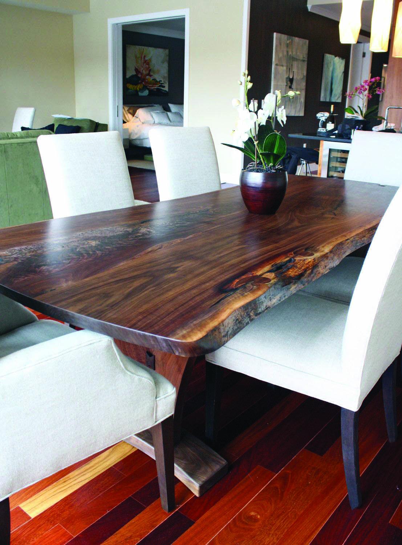 diy modern wood dining table