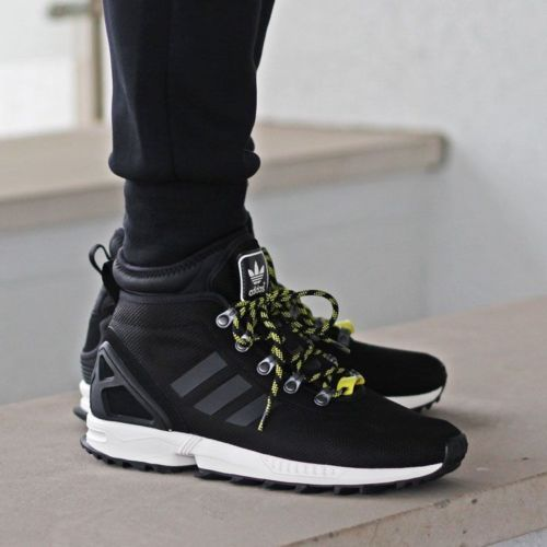 34e9fc3558da8 new-ADIDAS-ZX-FLUX-WINTER-Core-Black-SHOES-mens-12-46-5-trail-hiking-boots