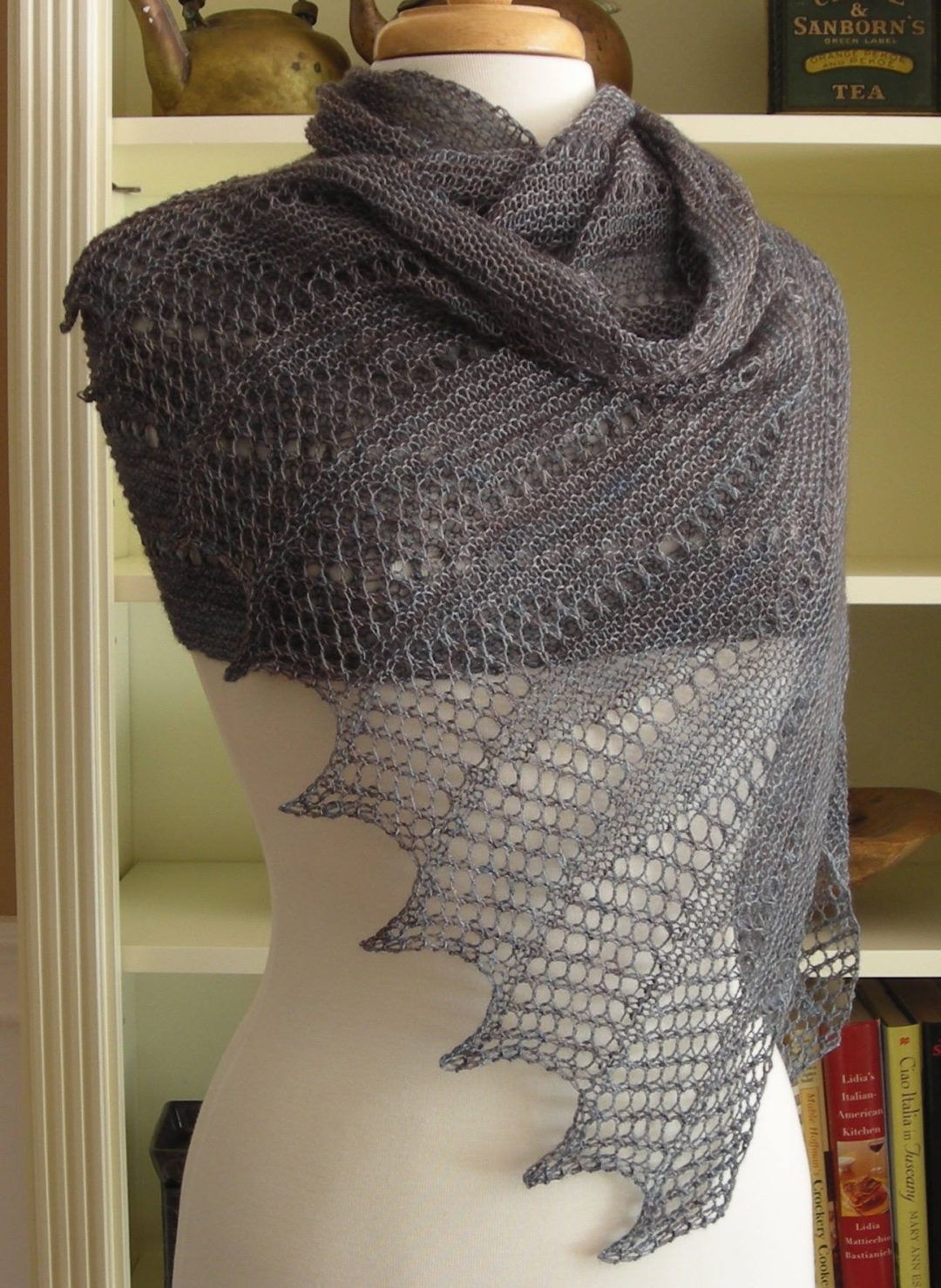Knitting Pattern for Mistral Wrap   Easy knitting patterns ...