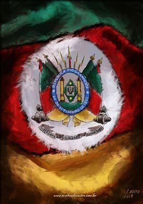 Pin De Jeff Santos Em Gaucho Arte Em Pranchas Tatuagem Da Bandeira