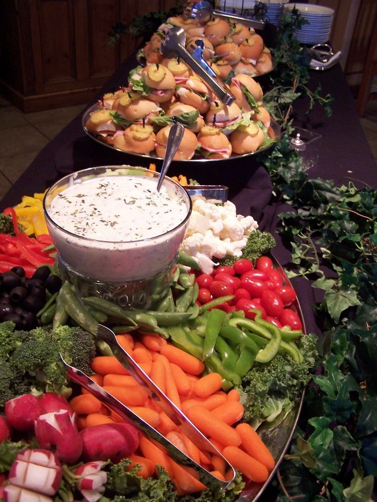 Wedding Reception Sandwich Bar Appetizer Only Wedding Reception