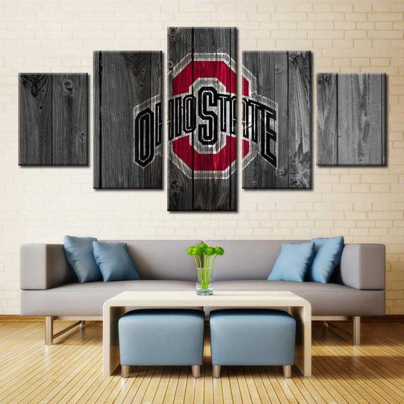Ohio State Buckeyes Sport Canvas Wall Art