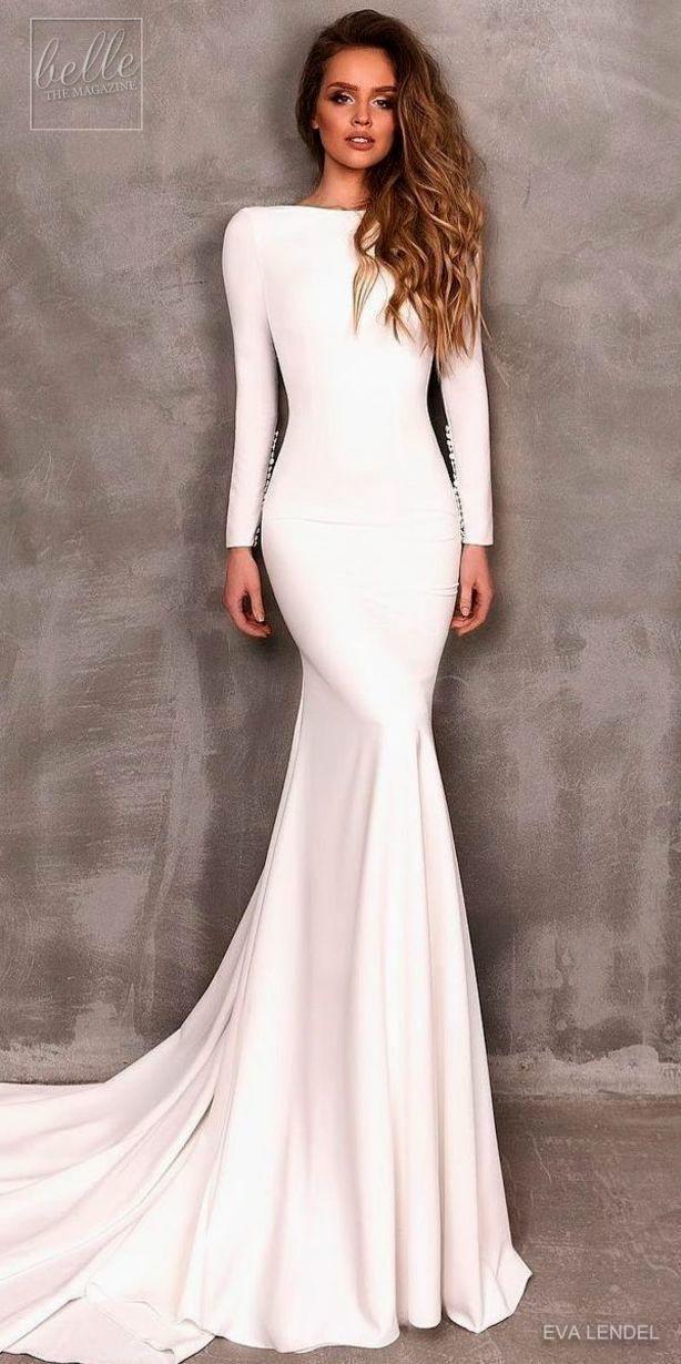 2018 年の simple wedding dress brides dream about finding the most