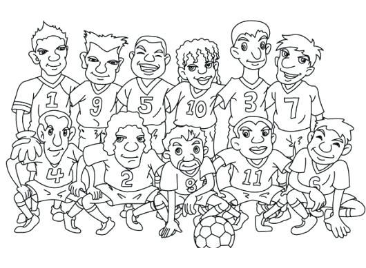 Imagenes Para Colorear De Equipos De Futbol Impresion Gratuita Futbol Para Colorear Dibujos Para Colorear Gratis Peppa Para Pintar