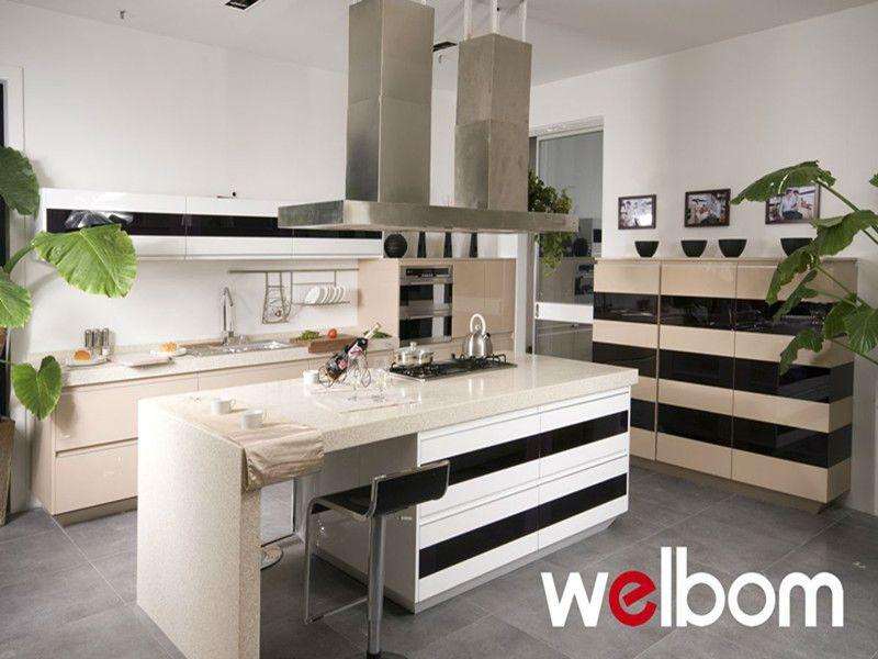 Dupont High Gloss Laquer Fantastic Kitchen Design $2000~$5000