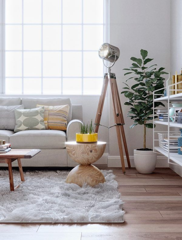50 Unique Floor Lamps That Always, Stand Lamps For Living Room