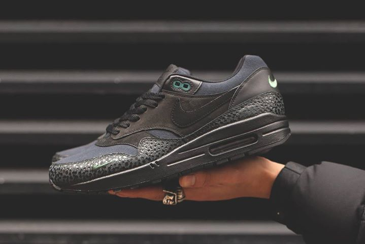 reputable site 48ea0 e5f1c The Sole Supplier. The Nike Air Max 1 Safari Black Bonsai PRM is launching  in 10 minutes.