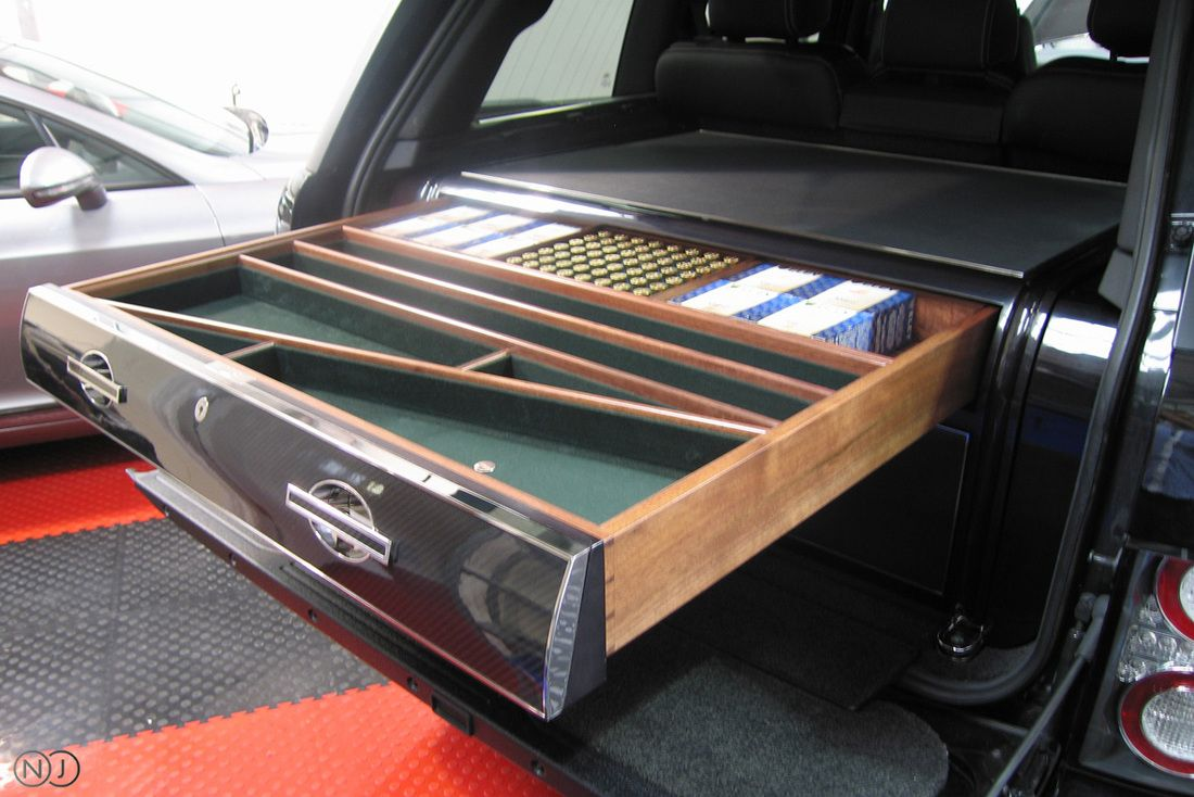 Gun Box By Neal Jones Designed To Be Fitted Into The Back