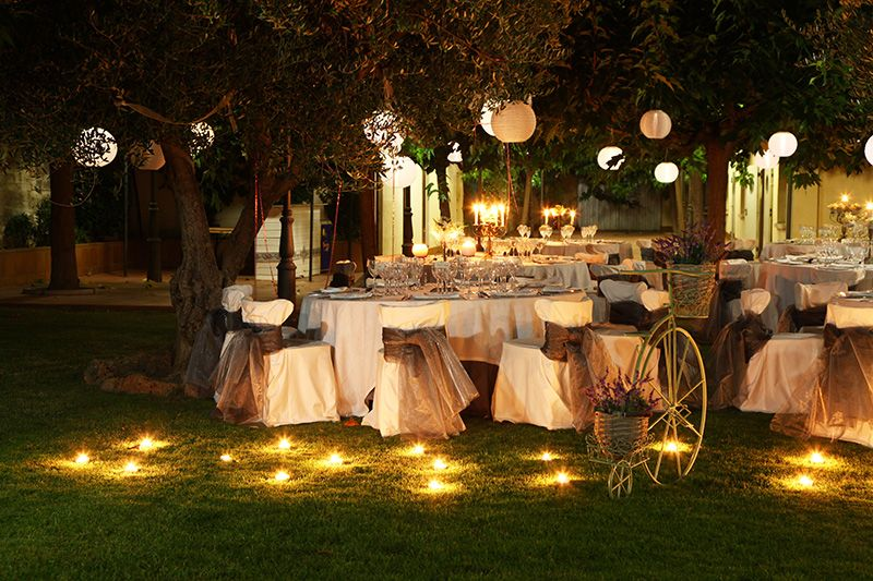 Boda de noche en el campo decoraci n pinterest boda for Decoracion fiesta jardin noche