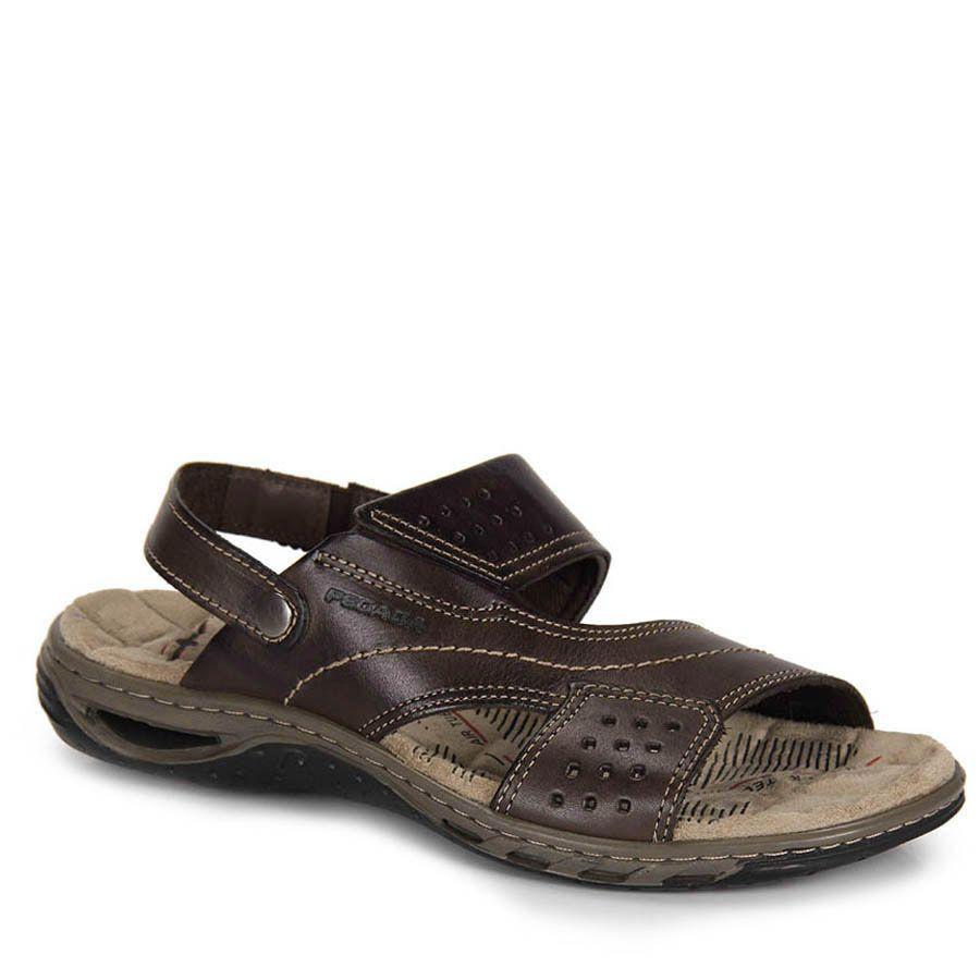 b617aab0e Sandália Masculina Pegada - Marrom   calçados   Sandálias masculinas ...