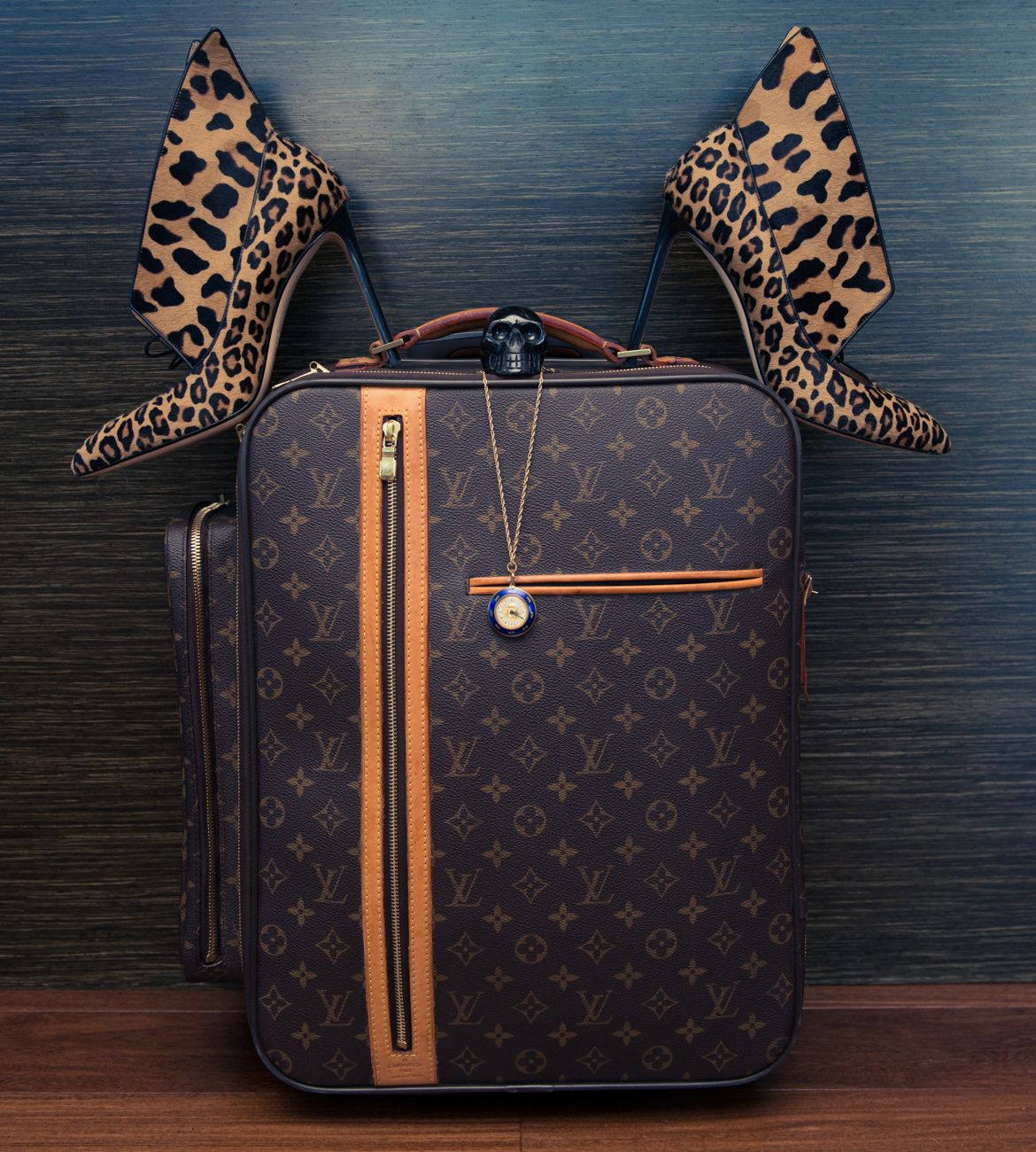 We've always wanted an Louis Vuitton suitcase: http://www.thecoveteur.com/katie-cassidy-style/