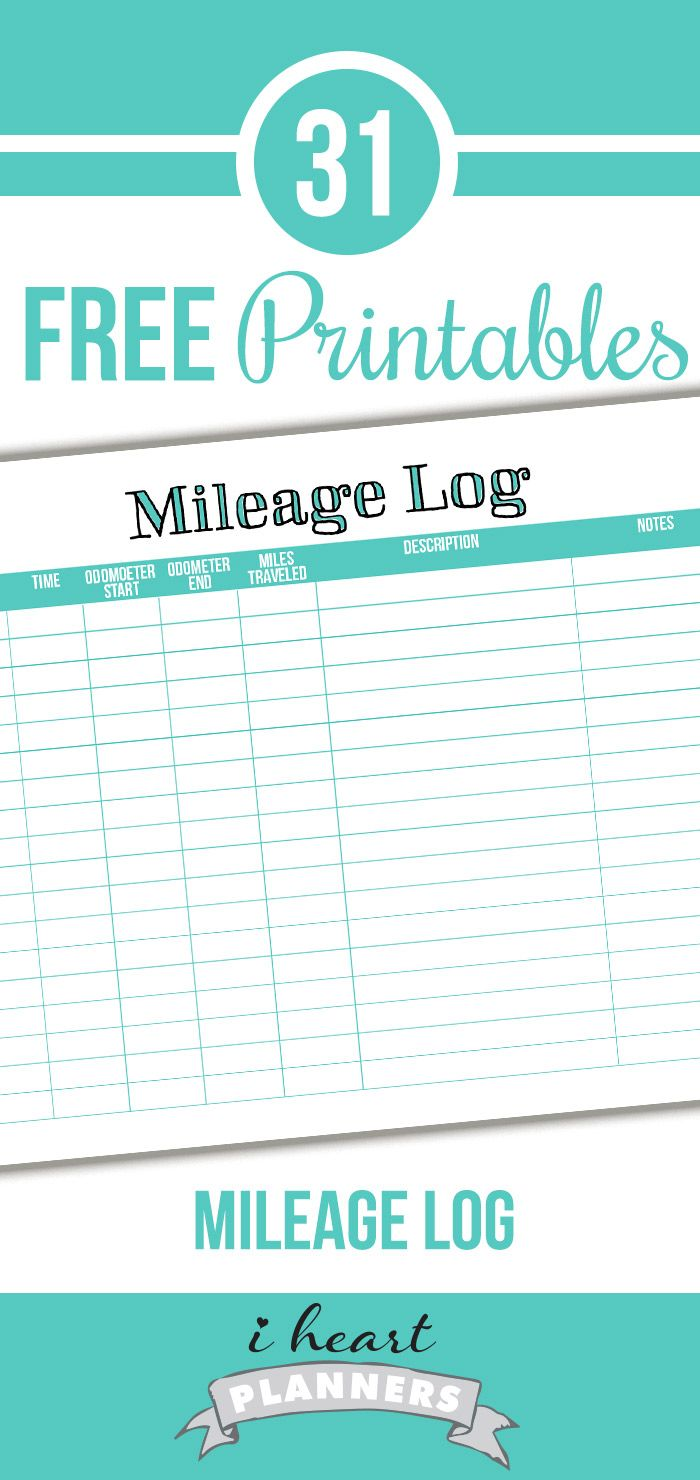 Day  Mileage Log  Direct Sales Business And Mary Kay