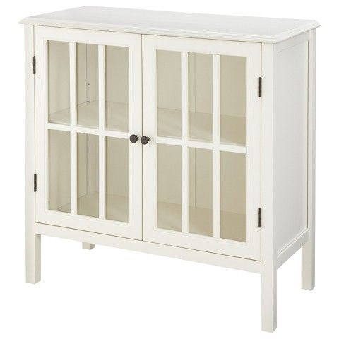 "Threshold™ Windham Accent Cabinet, Target $149, free shipping 31"" height x 32"" wide x 14"" deep"