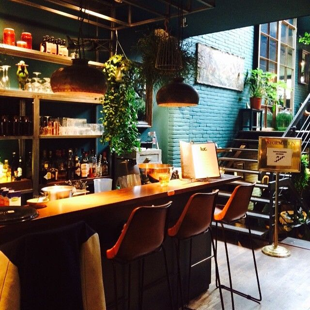 Breakfast Lunch And Dinner Luc In Utrecht Dutchplaces Com Bar Restaurant Interior Restaurant Decor Restaurant Interior