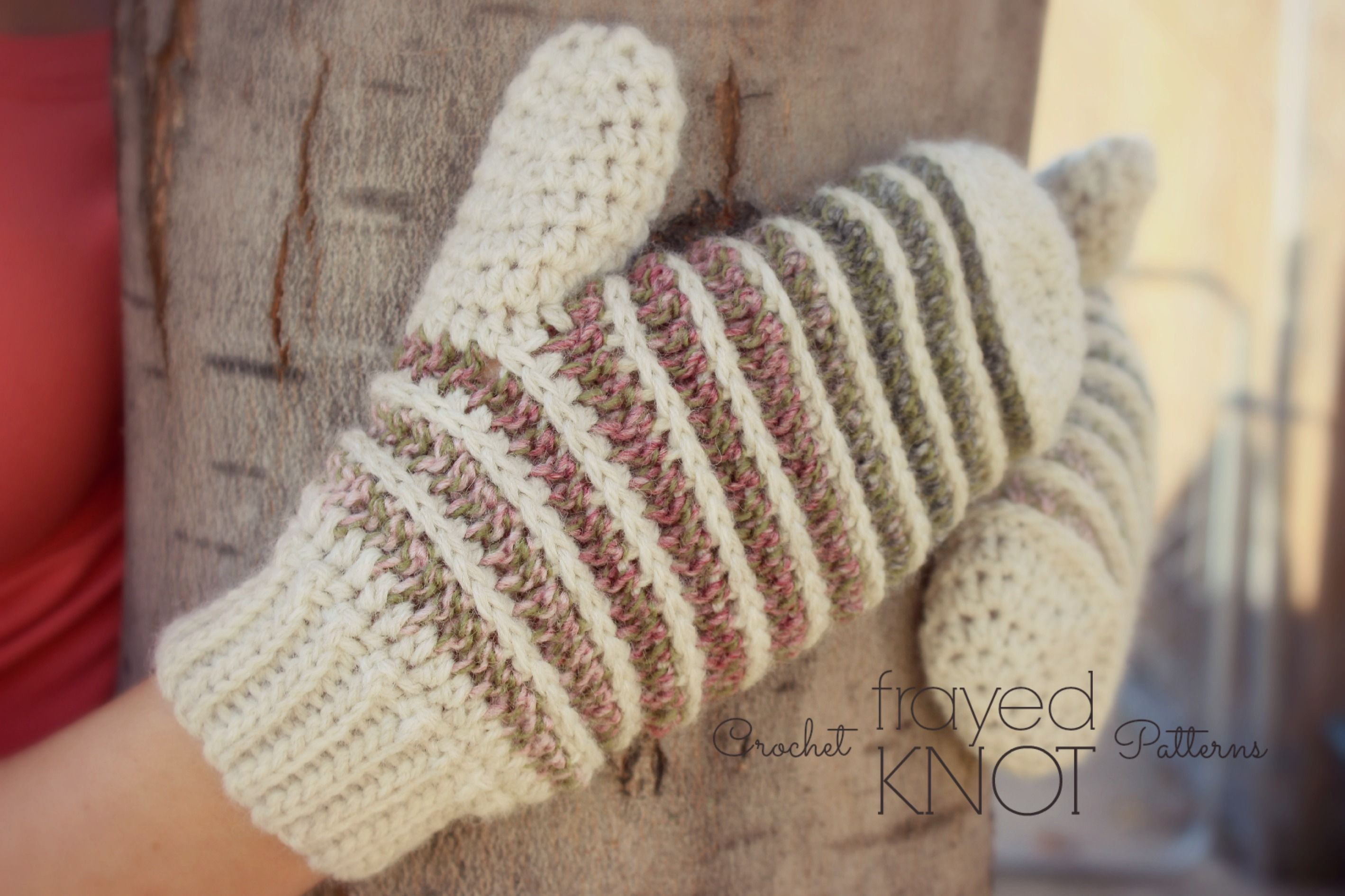Its Finally My Turn To Share My Free Mitten Pattern For The Crochet