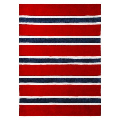 Rugby Stripe Area Rug Blue Area Rugs Striped Rug Area Rugs