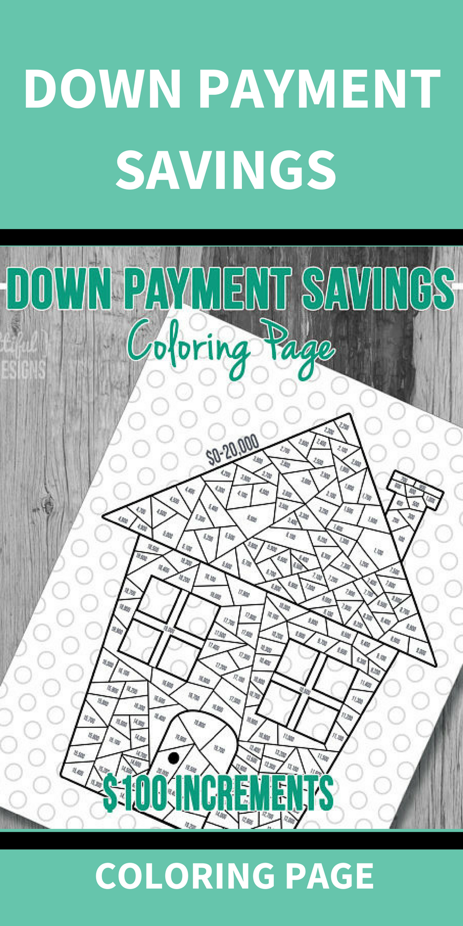 Keep track of the down payment for your dream home with this digital ...