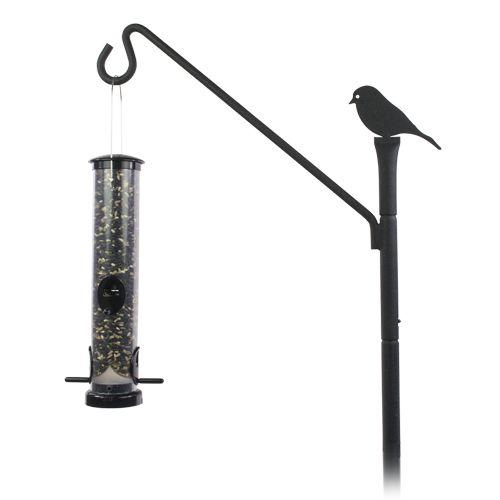 Aps Advanced Pole System Basic Deck Setup Hardware Wild Birds Unlimited Wbu Wild Birds Wild Birds Unlimited Bird Feeder Poles