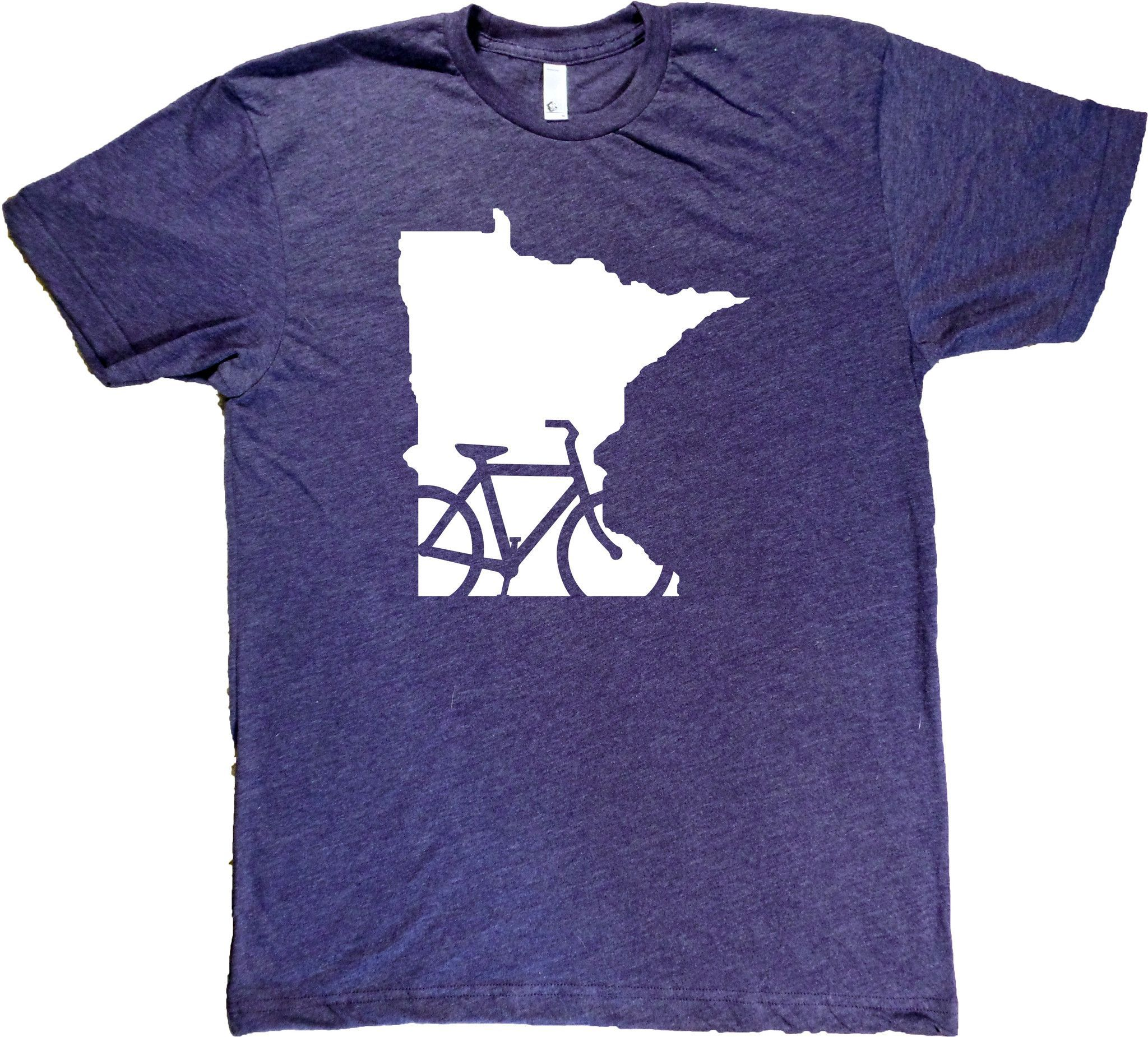 ec0169623 Screenprinted on American Apparel shirts. Designed and printed in Minnesota.  Unisex sizes S-XXL. Click here for sizing chart. 50/50 ultra-soft  cotton/poly ...