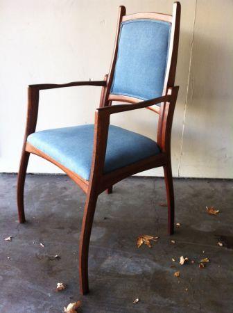 San Jose: Armchair retro mid century studio modern $200 - http://furnishlyst.com/listings/1126981