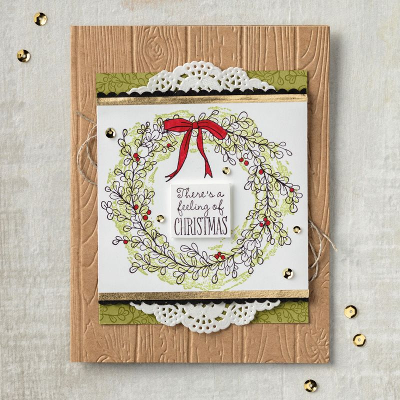 Feeling of Christmas Clear-Mount Stamp Set by Stampin\' Up ...