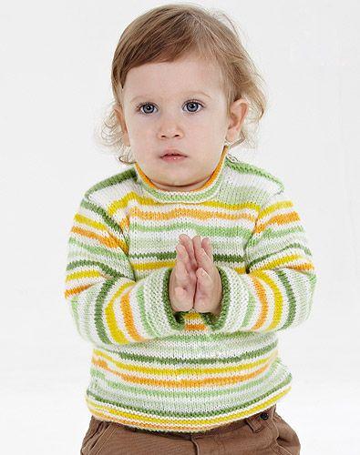 Easy children sweater knitting pattern for beginners #children'ssweaters