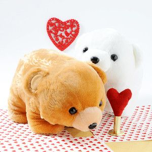 Valentine's Plushie Pairs: Grizzlyn & Polar