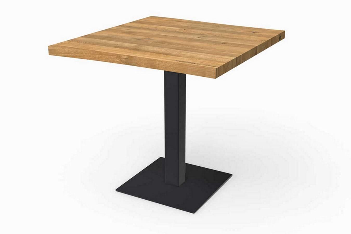 Bistrotisch Massivholz Eiche Bistrotisch Tisch Couchtisch Massivholz