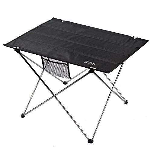 Huntvp Ultralight And Portable Folding Camping Table With Carrying Bag For  Outdoor Camping Hiking Picnic *