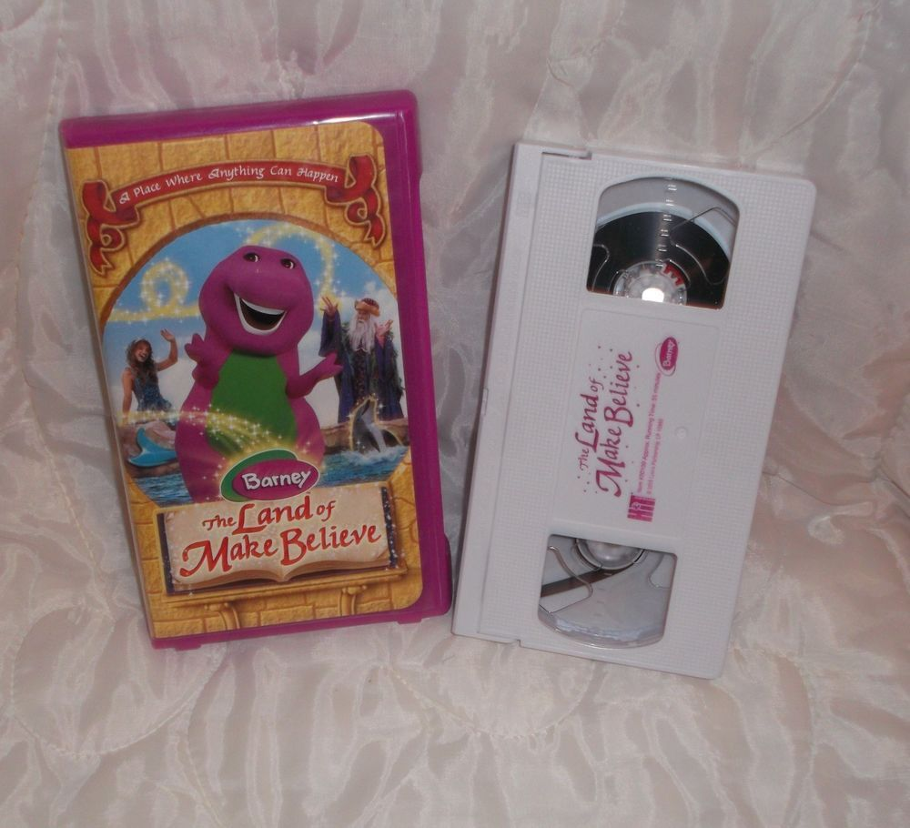 barney three wishes vhs 1989