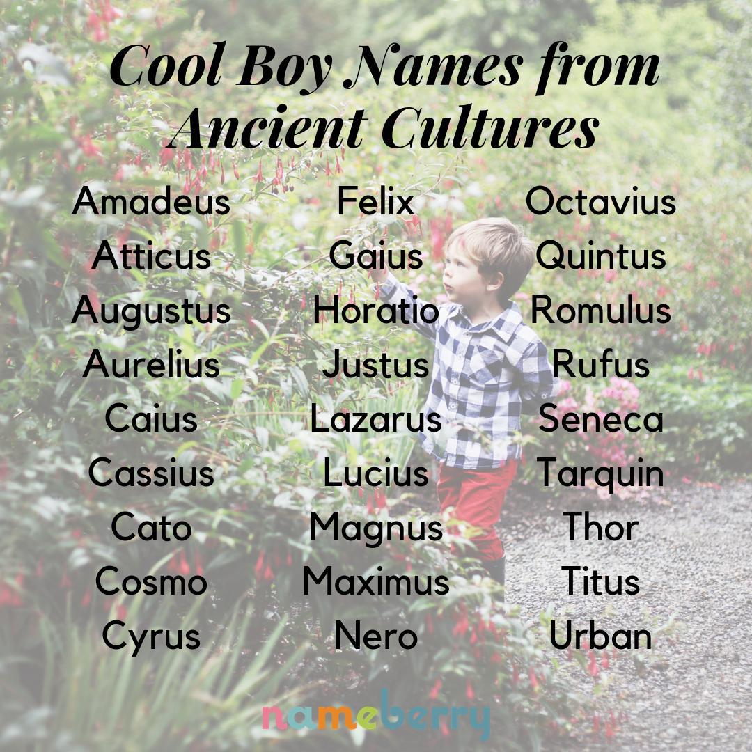 Photo of 69 Cool Boy-Namen aus alten Kulturen –  Coole Babynamen für Jungen aus alten Ku…