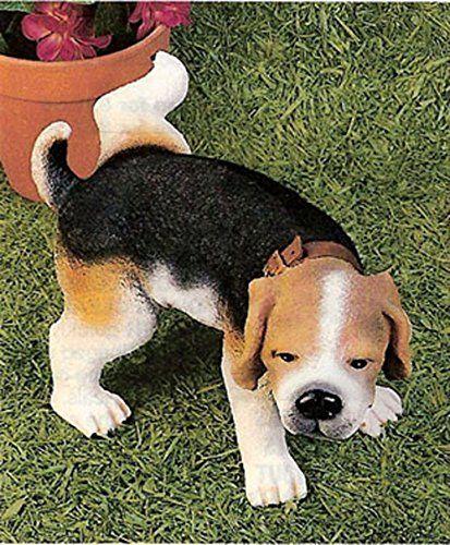 10 Indoor Outdoor Peeing Beagle Statue Beagle Statue Garden