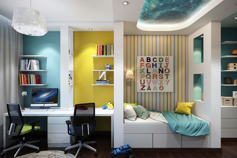 Colorful and modern kid s bedroom design ideas children room