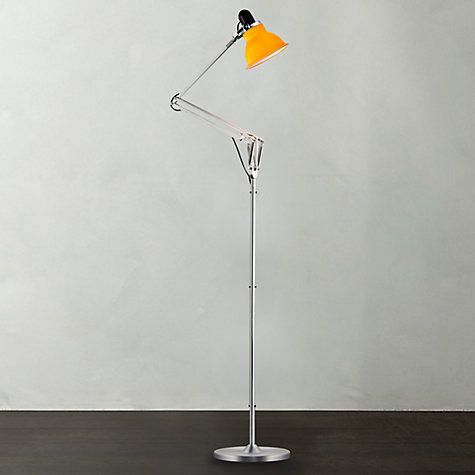 Buy Anglepoise 1228 Floor Lamp, Daffodil Yellow Online at johnlewis ...