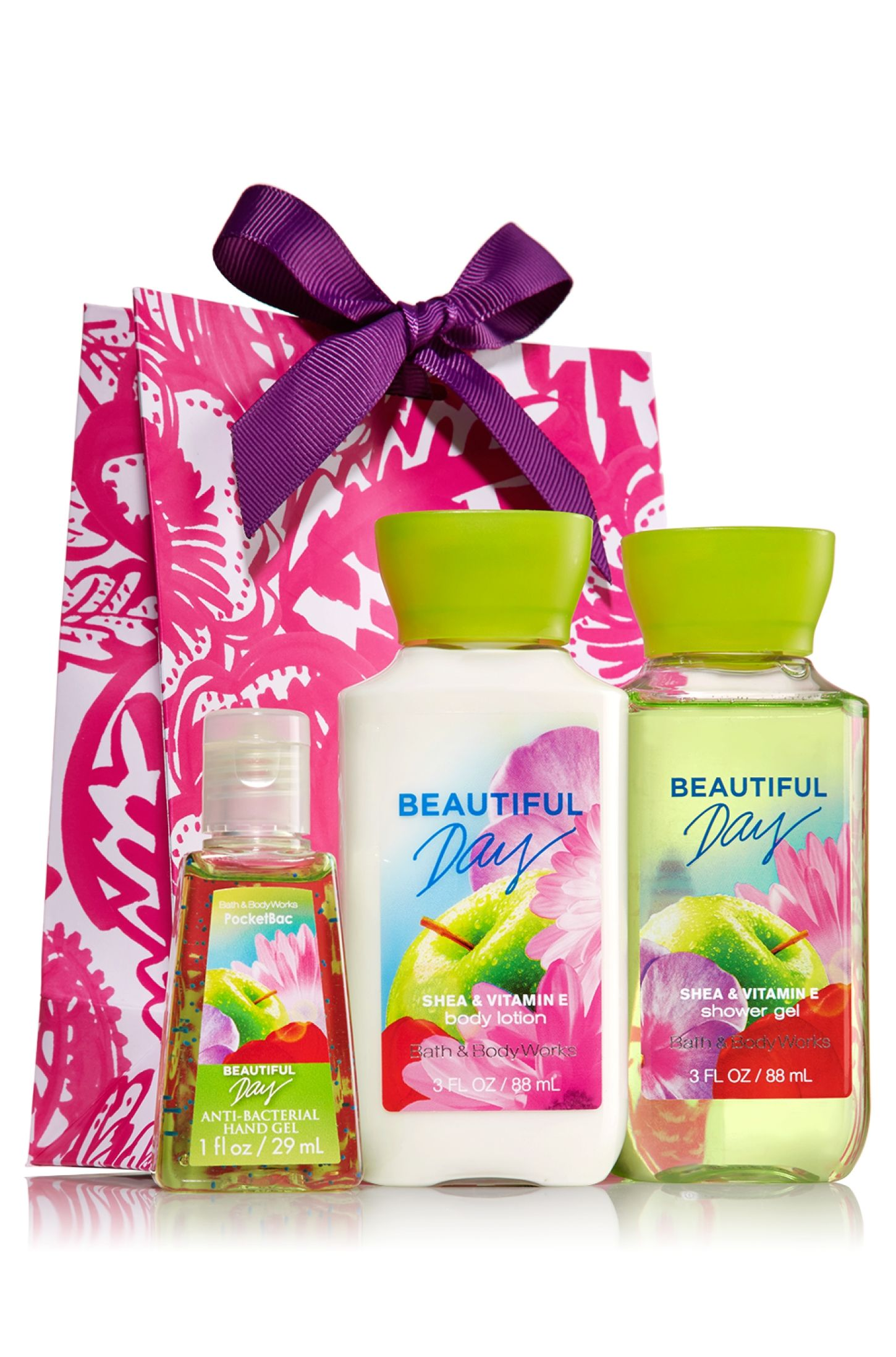Beautiful Day Travel Treats Gift Kit Signature Collection Bath