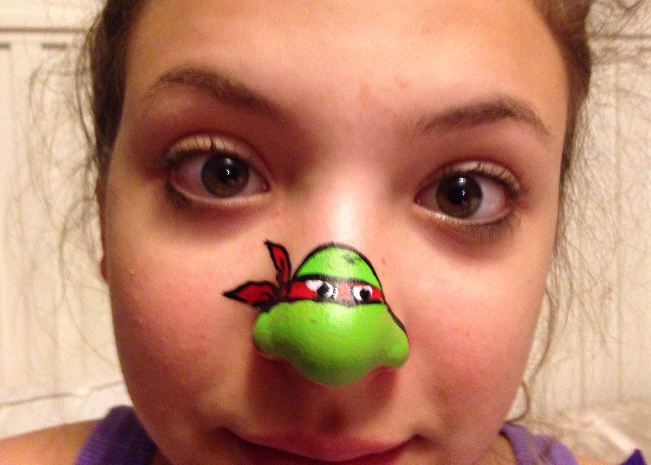 Tmnt Face Paint Nose