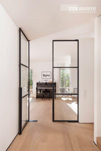 Photo of Stål – glass – dører – loft loftdører